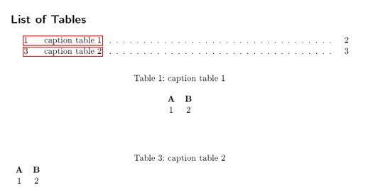 Tabellennummerierung Mit Ltablex Falsch Latex Und Tex Welt
