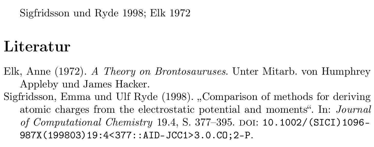 Elk, Anne (1972). A Theory on Brontosauruses. Unter Mitarb. von Humphrey Appleby und James Hacker.