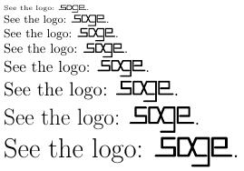 Logo direkt mit tikz