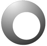 Farbverlauf mit Clipping
