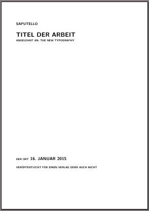 Beispieltitel mit titlepage