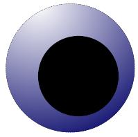 blau gefüllt