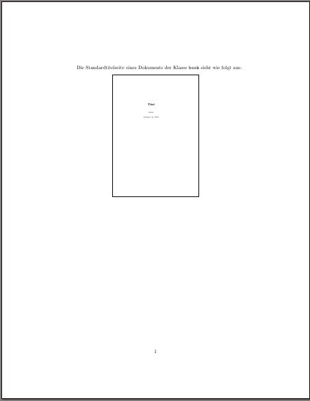 Dokument mit Seite aus einem on-the-fly erzeugten Dokument