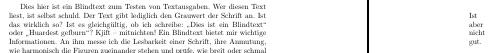 Hüpfender Textanfang durch falsche Verwendung von klzzwxh:0012