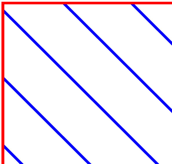 korrekte Linien
