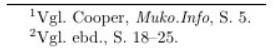 Fußnoten mit Seitenzahl