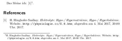 cite und fullcite