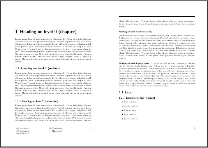 Seite 1 und 2 mit neuem Layer