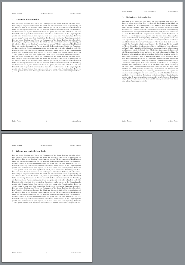 Drei Seiten Ergebnis mit scrlayer-scrpage
