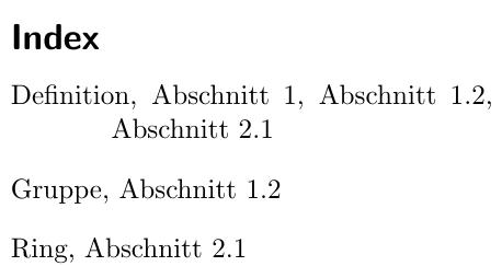 Mit Abschnitt-Präfix
