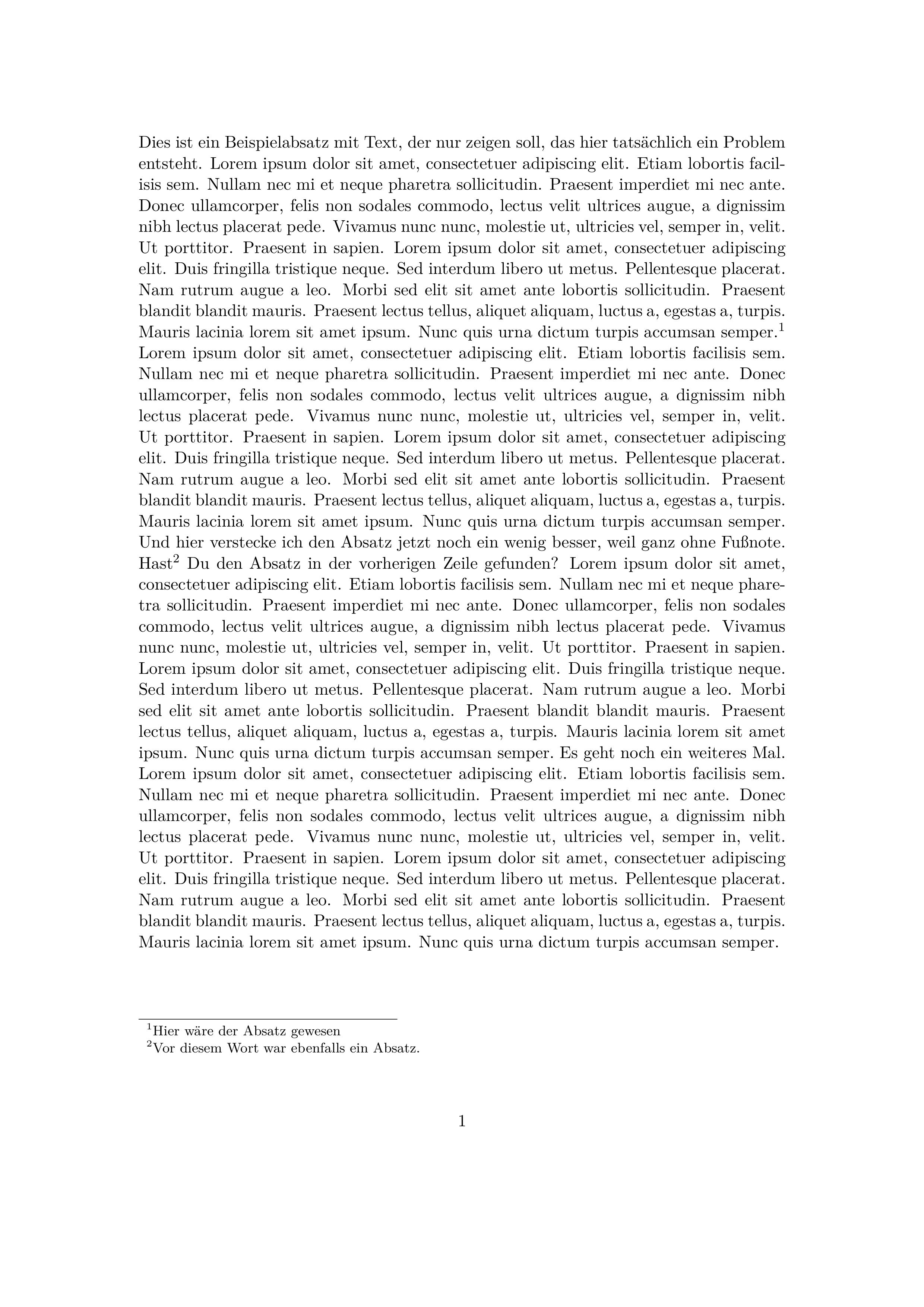 Screenshot der PDF, neue Absätze sind praktisch nicht erkennbar